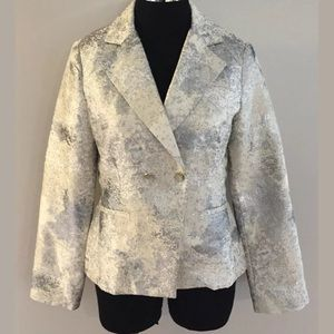 Cabi Metallic Blazer Jacket Women's Size 4